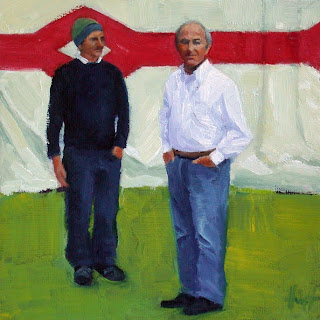 Son and Father by Liza Hirst