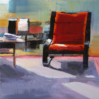 Sunny Livingroom by Liza Hirst