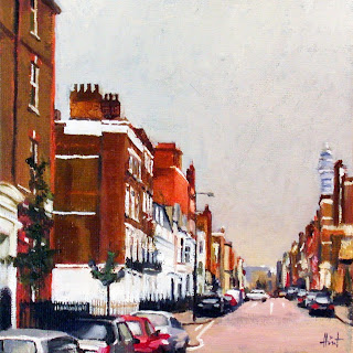 Odd Light in Marylebone by Liza Hirst