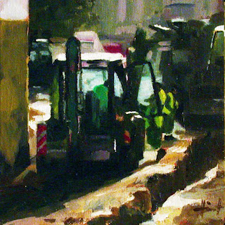 Roadworks by Liza Hirst