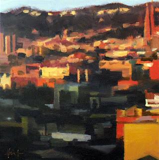 Sunrise Barcelona by Liza Hirst
