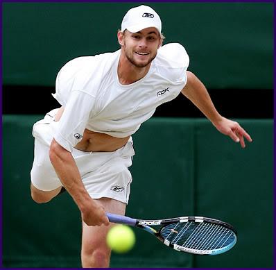Andy Roddick 2009 Tennis Serving Photo