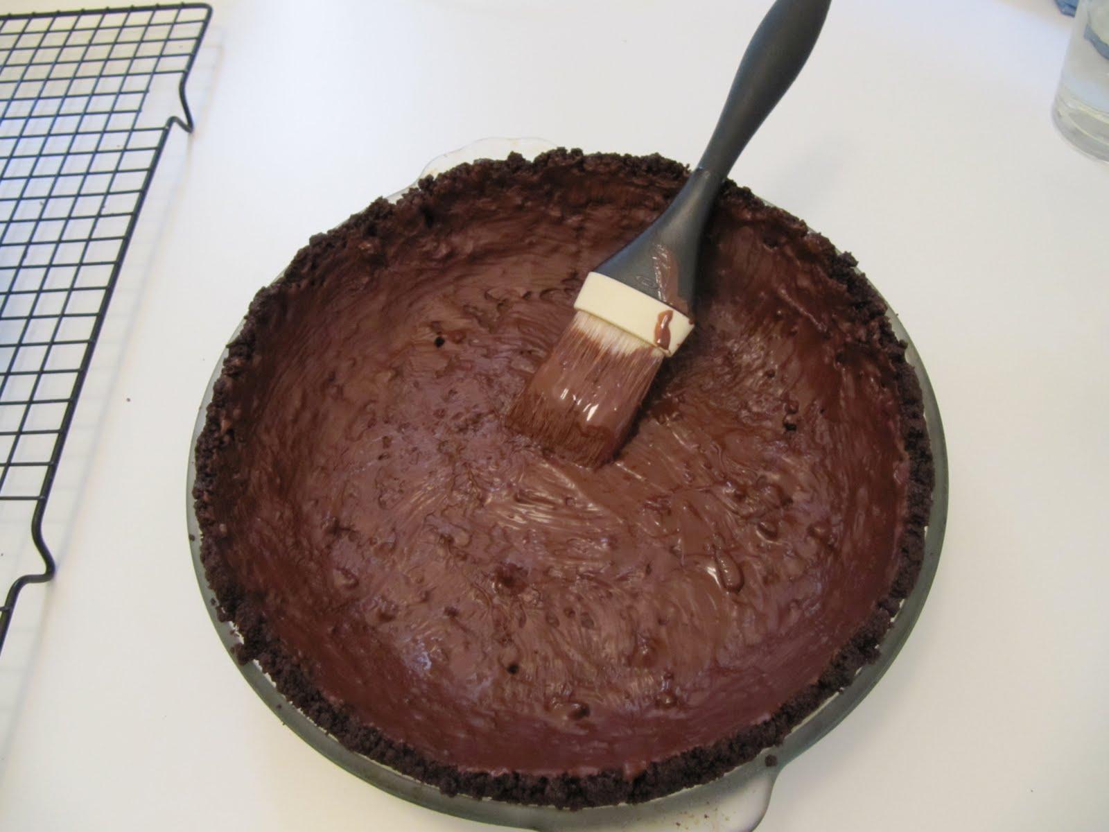 Baby Chocolate Coconut Cream Pies Recipe — Dishmaps