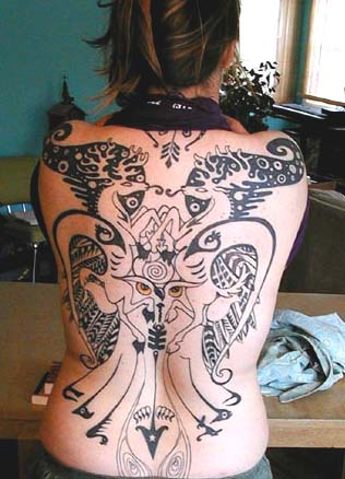 Back Tattoo Pictures