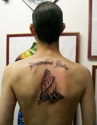 Label: Praying Hands Tattoos Style