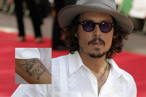 johnny depp chest tattoos. johnny depp chest tattoos.