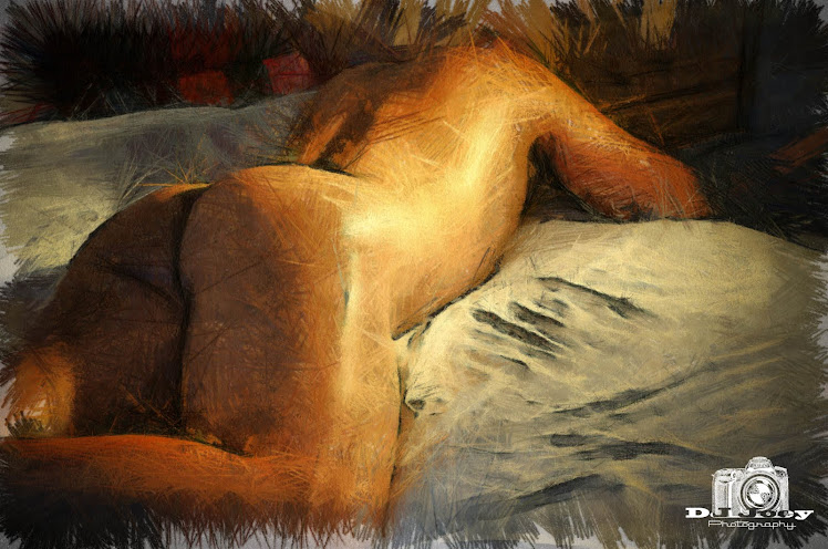 Anonymous Nude Model (Computer-Aided Drawing)