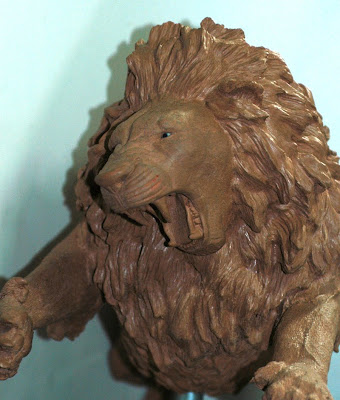 african lion art