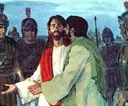 """""""Judas the Betrayer"""" - Artist unknown"""