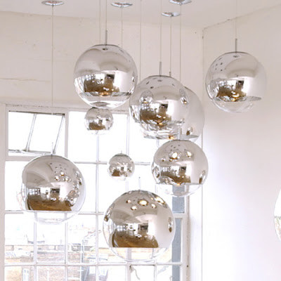 Tom dixon mirror ball lights modern design by moderndesign tom dixon mirror ball lights aloadofball Choice Image