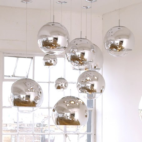 tom dixon mirror ball lights modern design by. Black Bedroom Furniture Sets. Home Design Ideas