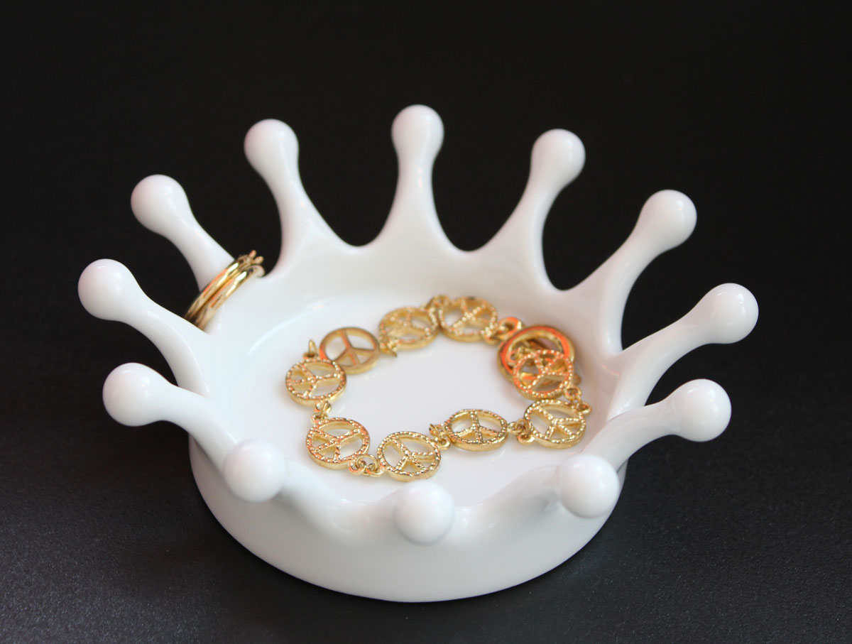 Amazing Milk Crown Jewelry Tray Design Inspirations