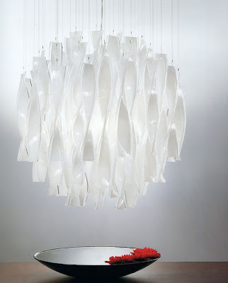 Modern Murano Glass Chandelier