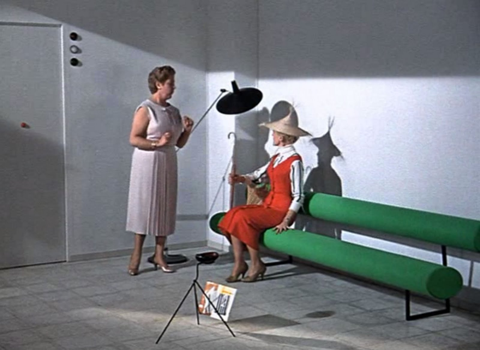 Mid century modern in 1958 modern design by - Jacques tati mon oncle ...