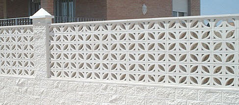 mid century decorative concrete screen block modern design by moderndesignorg - Decorative Concrete Block
