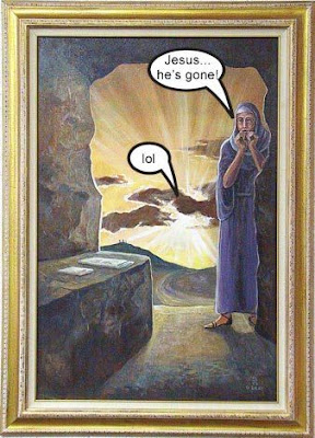 Jesus' gone