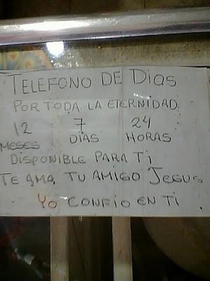 God's phone