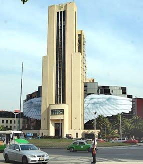 Edificio Lotería Nacional intervenido