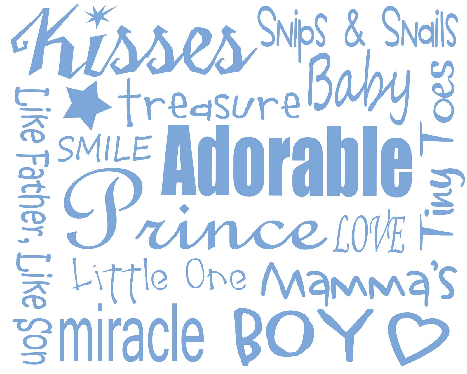 Boy Baby Shower Borders Free baby boy printables