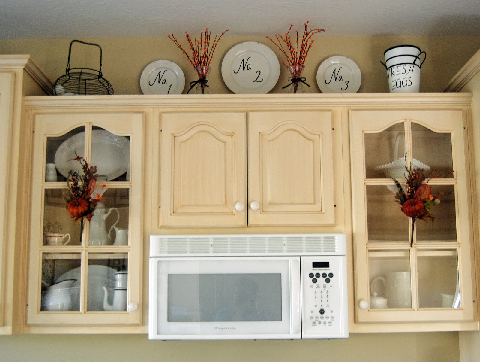 Inspired by you: Kitchen Fall Decor