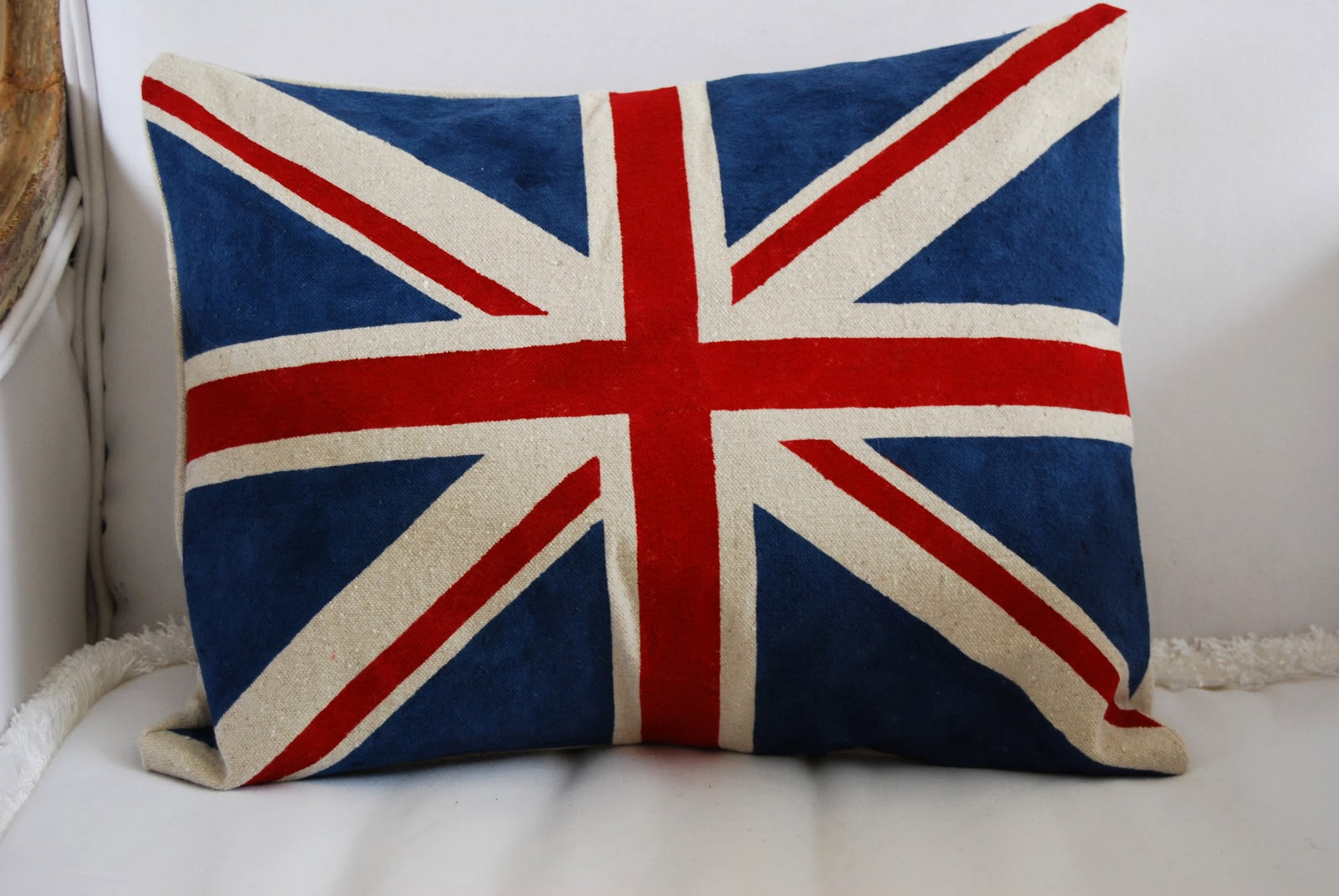 Knitting Pattern For Union Jack : Picture suggestion for Union Jack Pillow Knitting Pattern