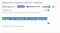 pasa tus contactos de tu red social a windows live