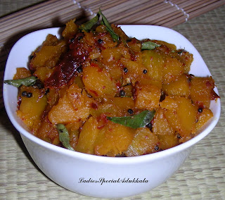 Mathanga Thoran (Pumpkin Fry)