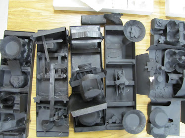 Louise Nevelson Assemblages