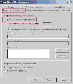 certificate template renewal period - bir teknoloji gezgininin notlar windows server 2003