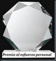 NUNCA PENSÉ QUE RECIBIRÍA UN PREMIO. GRACIAS A LA MADRÉ DE BERNARDO!!!!