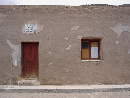 Escuela de Antofalla, funciona de Septiembre a Abril por las bajas temperaturas