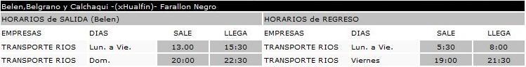 TRANSPORTES RIOS Tel.:03835-461950