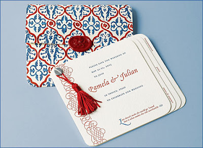 artistic wedding invitations design