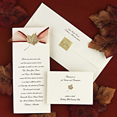 This wedding invitation was designed by Karen a professional designer in