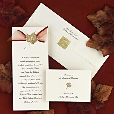 This wedding invitation was designed by Karen a professional designer in
