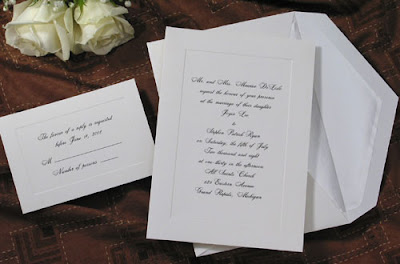 Cheap But Elegant Wedding Invitations With Envelope