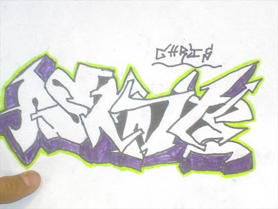 graffiti words arts