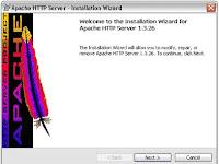 Intalasi Apache Web Server, PHP, dan My SQL
