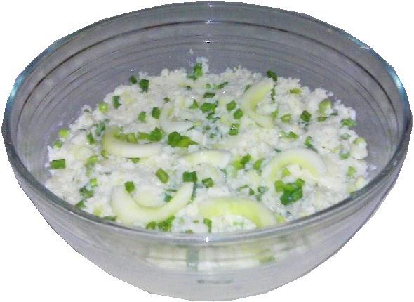 Lileni y sus recetas express ensalada de arroz con pepino for Arroz blanco cocina al natural