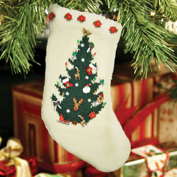 Cascade Yarns Blog: Free Pattern - O Christmas Tree Stocking by Susie Bonell