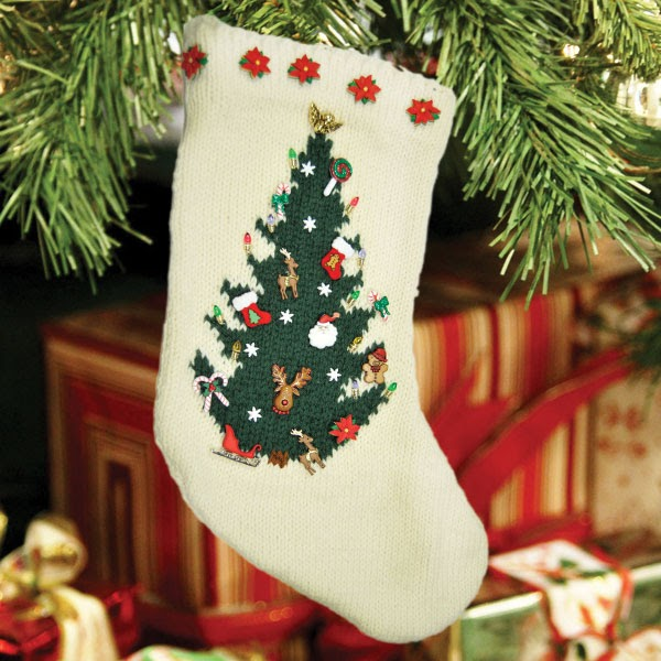 Cascade Yarns Blog: Free Pattern - O Christmas Tree Stocking by Susie Bonell