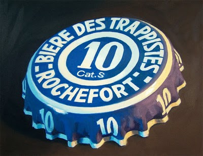 painting of a Rochefort 10 cap