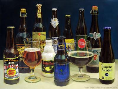 beer painting nemesis rochefort gulden draak racer 5