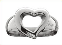 Single Heart Ring