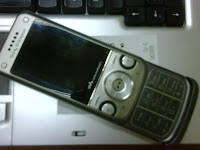 my SE walkman phone