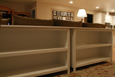 Frills Fluff and Trucks: Knock-Off Wood's Pottery Barn Bookshelves--