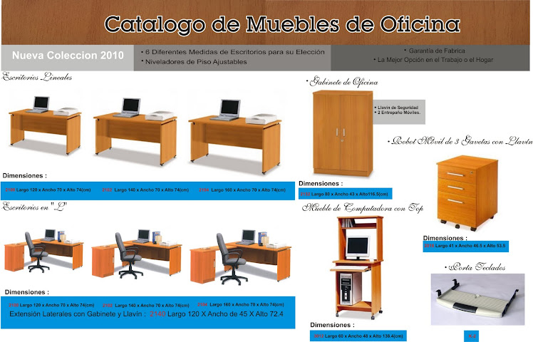 Office store for Folletos de muebles