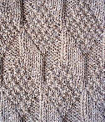 Moss Stitch Scarf Knitting Pattern : Stitches and Diamonds on Pinterest