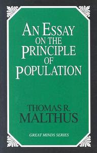 essay on the principle of population amazon