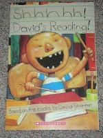 Shhhh, David's Reading!